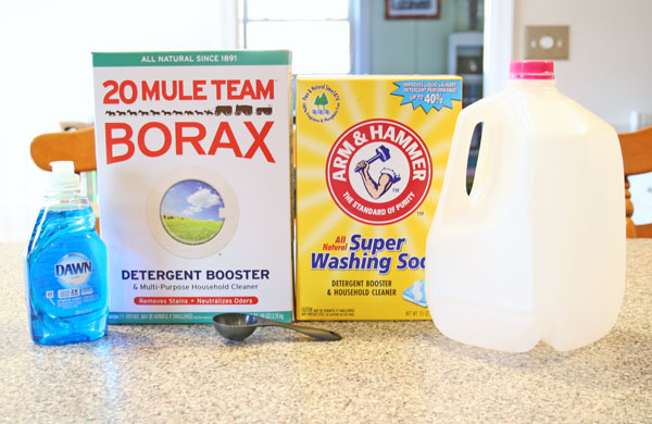 homemade no grate laundry detergent, cleaning tips