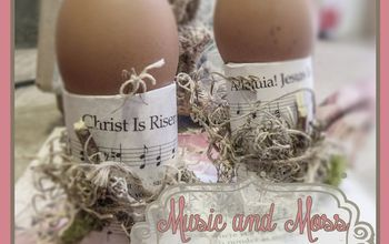 Music and Moss Egg Stands
