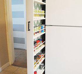 DIY Hidden storage: canned food storage cabinet | Hometalk
