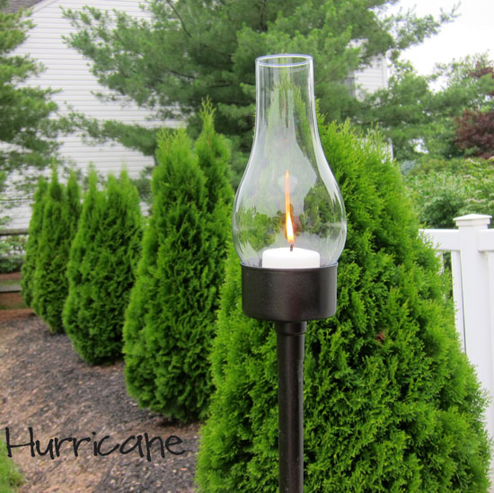 deck and outdoor living tuna can lantern, outdoor living, repurposing upcycling, Tuna Can Lantern at InMyOwnStyle com