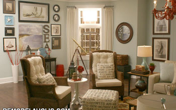 This living room was a fun design challenge in a commercial photography studio.