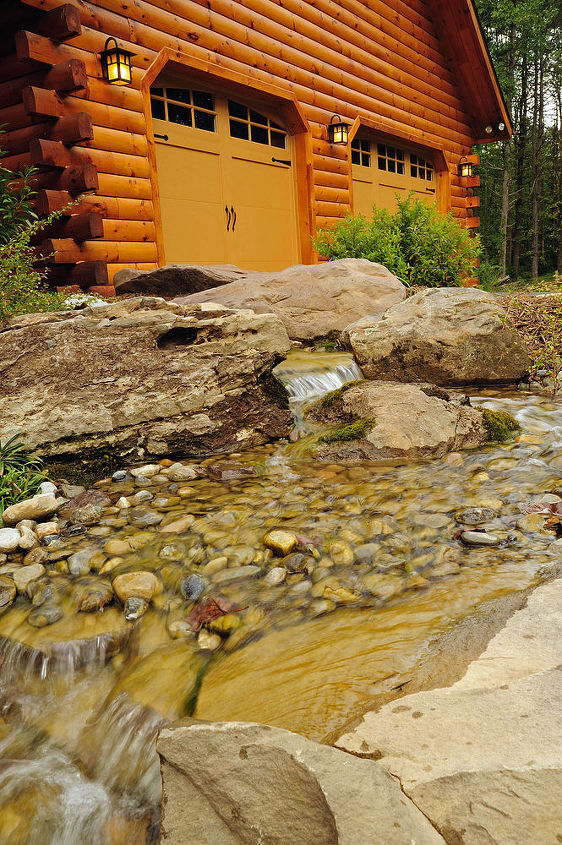 The new welcoming pondless mountain stream