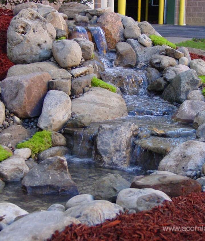 Acorn Designs Pondless Waterfalls in Rocheste