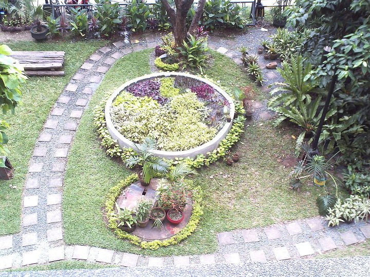 top view of the propagation pit