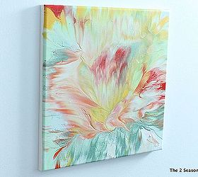 create your own modern art crafts home decor painting i made a