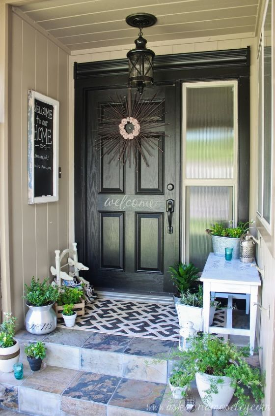 My finished front porch makeover!