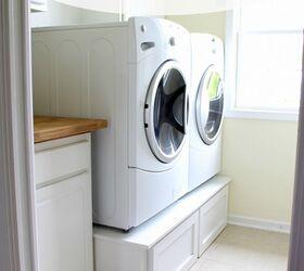 Genial DIY Laundry Room Pedestals For $100 Http://justagirlblog.com/diy
