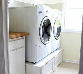 Laundry Room Pedestals, Appliances, Laundry Room Mud Room, DIY Laundry Room  Pedestals For