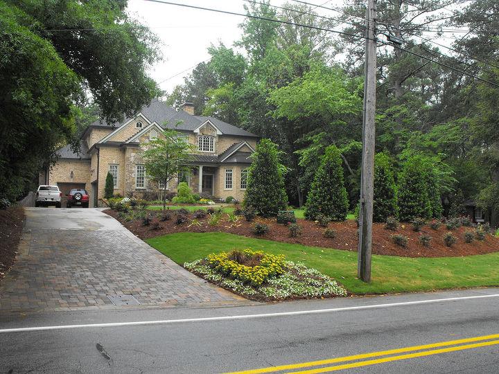 driveway problem solved, concrete masonry, landscape, outdoor living