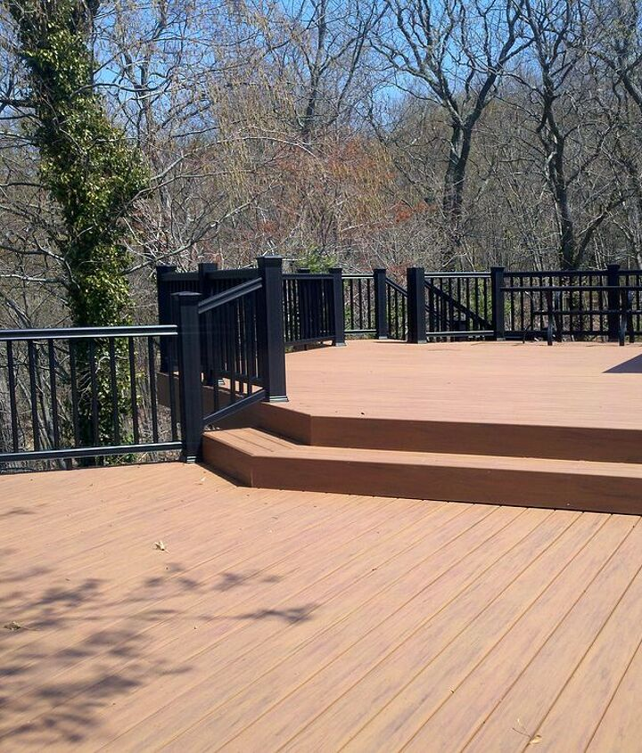 Tip: When creating levels, be mindful of not just creating level for aesthetic interest, make sure each level in usable. http://www.deckandpatio.com/decks/portfolio.html