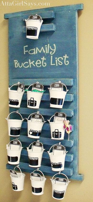 Family Bucket List