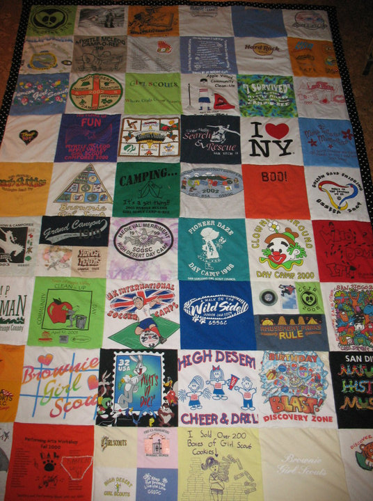 girl scout and a few soccer t shirt quilt, crafts, All these wonderful designs