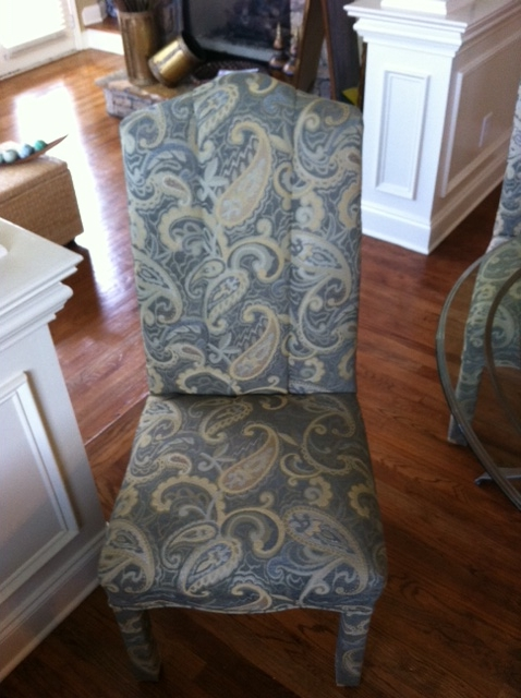 q it s a woman s prerogative to get custom chair reupholstery done then decide she, painted furniture