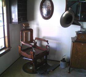 barber chair restoration