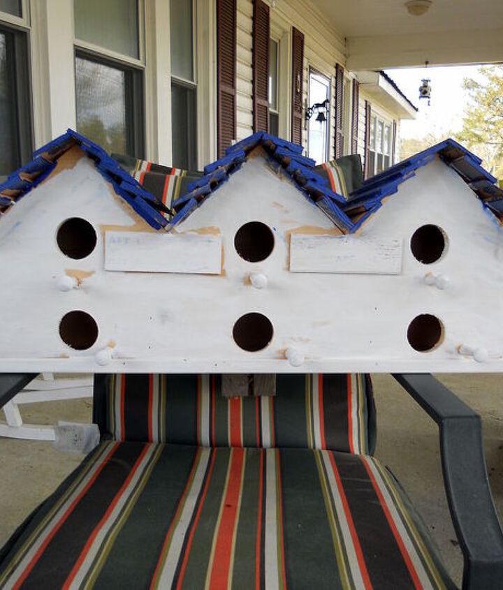 "Chik-Inn   Two level ""motel""  this houses six little families"