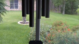 q what can i use to replace the weighted part of my windchimes that broke something, home maintenance repairs