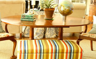 add stripes to fabric with fabric paint, painted furniture, reupholster