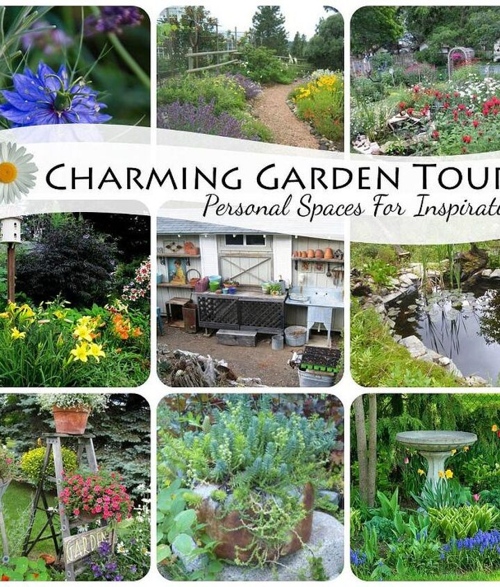 Tour 12 wonderful personal gardens! http://ourfairfieldhomeandgarden.com/12-charming-gardens-personal-spaces-for-inspiration/