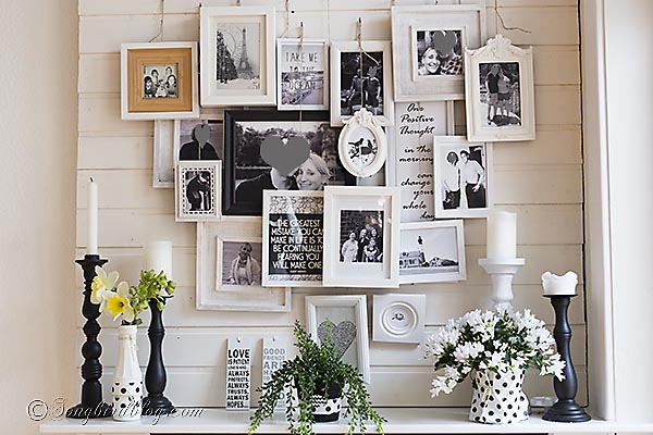 update decoration with paper, home decor