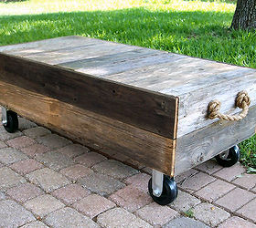 Rustic Coffee Table From Old Cedar Fence Boards Hometalk