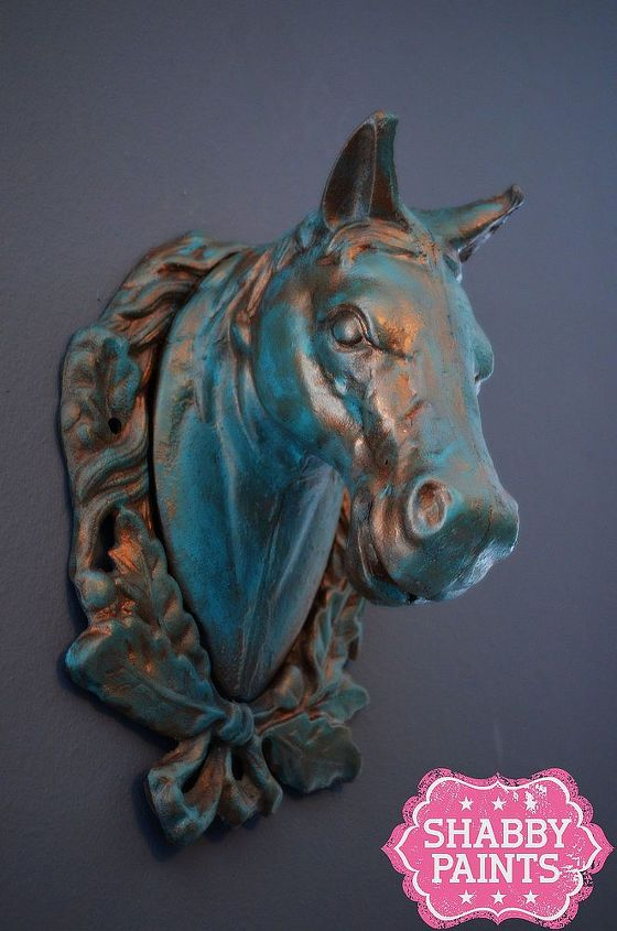 After~Heavier Patina with Copper Kettle Glaze Finish