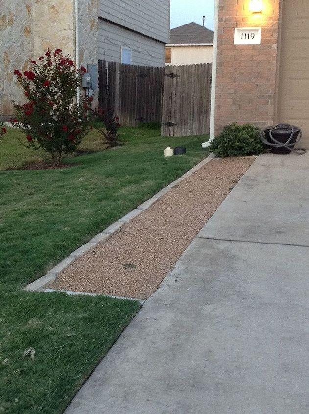Front Yard - Left of Driveway  - Extra Walking Space