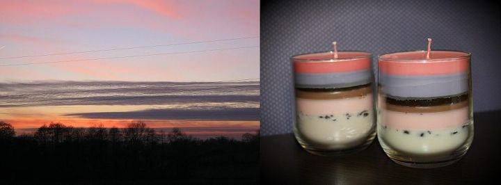 my hand made scented candles and the inspirations, crafts, home decor, repurposing upcycling