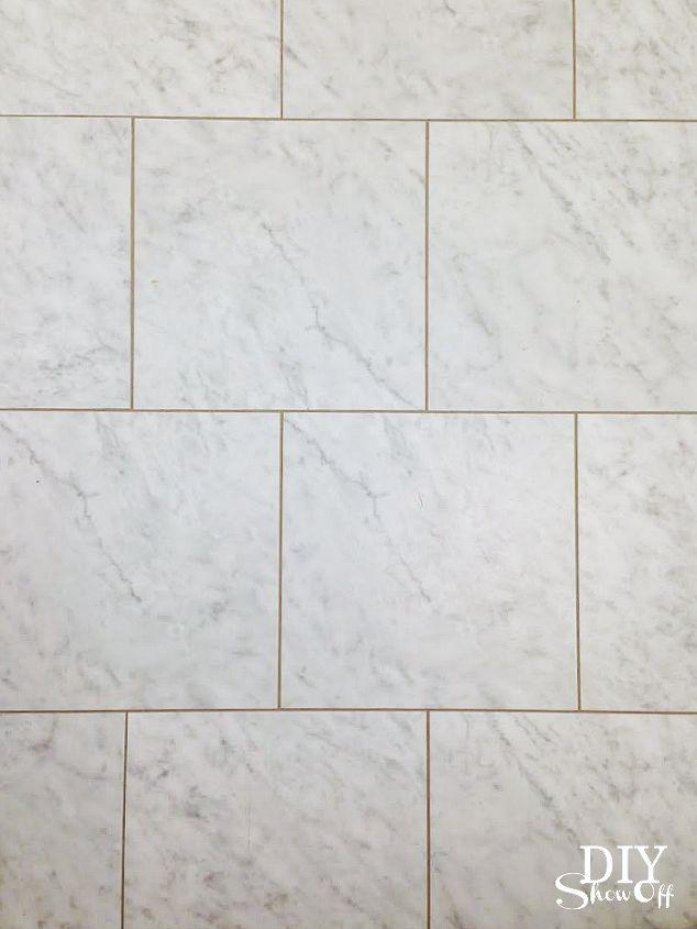 vinyl floor tile with grout, bathroom ideas, diy, flooring, how to, tile flooring, tiling, vinyl floor tiles with grout
