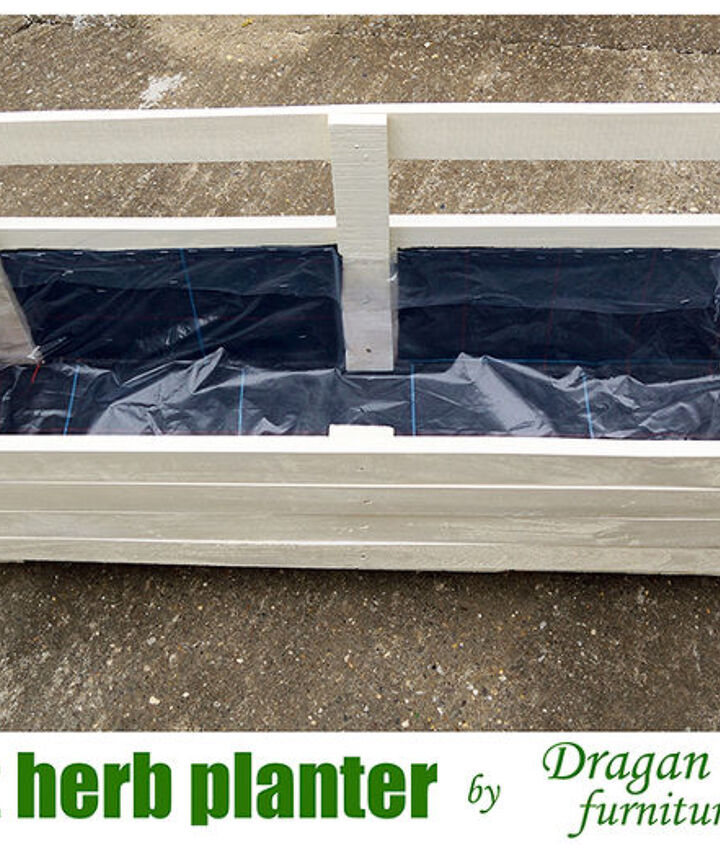 pallet herb planter by dragan drobac furniture crafts, diy, gardening, pallet projects, repurposing upcycling