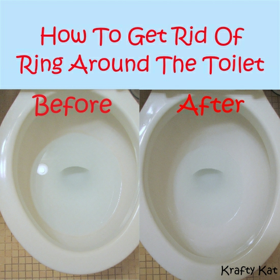how to get rid of the ring around the toilet, bathroom ideas, cleaning tips