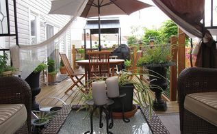 outdoor space, decks, outdoor living