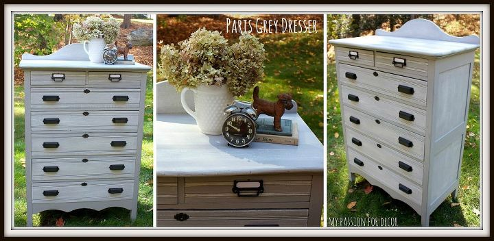 my new favorite dresser makeover, painted furniture