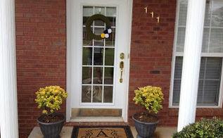 diy faux stone planter, flowers, gardening, Faux Stone Planter
