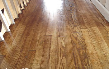 Refinishing a Floor the Easy Way