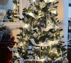 Winter Wonderland Decorating Ideas For Christmas Part - 16: Winter Wonderland Decorated Christmas Tree, Christmas Decorations, Seasonal Holiday  Decor