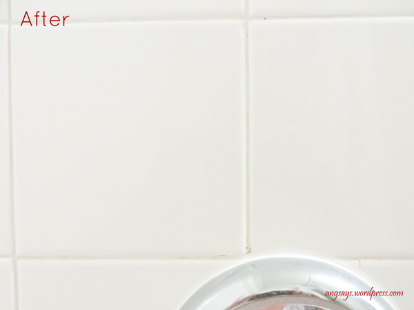 cleaning grout with homemade grout cleaner, bathroom ideas, cleaning tips, go green, home maintenance repairs, tiling
