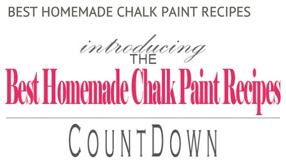 the best homemade chalk paint recipes, chalk paint, painting