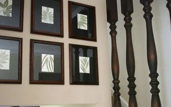 Stair Spindles and Gallery Wall