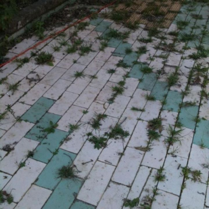 our old patio needs replaced, concrete masonry, patio