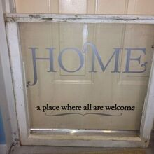 antique windows from a local old home, repurposing upcycling, windows