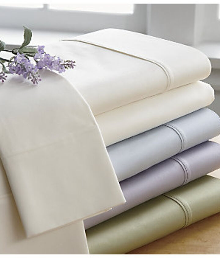 4. Sheets. Compare labels and similar items to get the best value.  A designer sheet that is 400 thread count pima cotton is identical to a store brand with the same characteristics. http://bit.ly/Uy9jU0