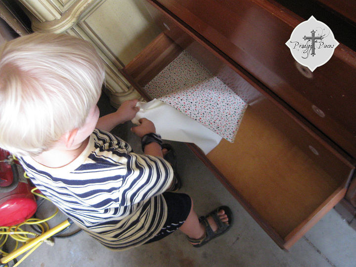 Why, oh why do they use contact paper on perfectly good drawers?
