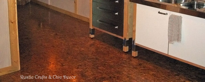 our finished osb flooring, flooring