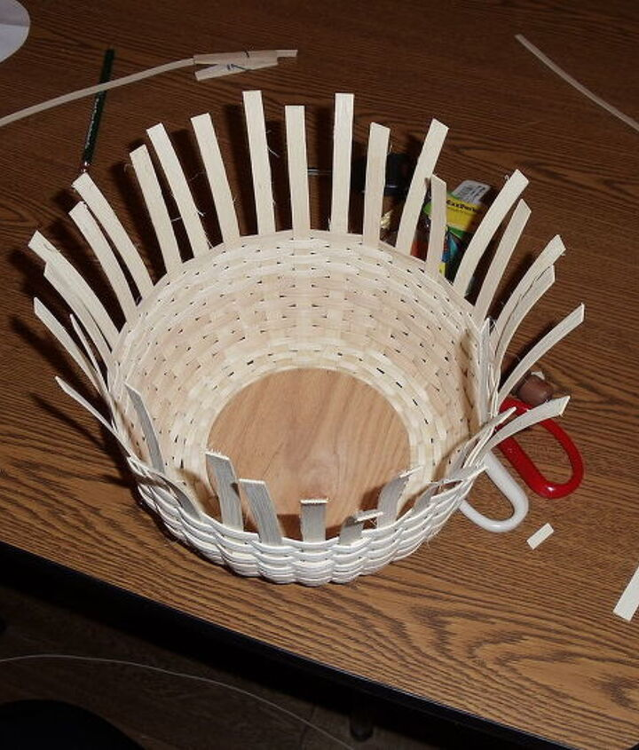 My basket half done