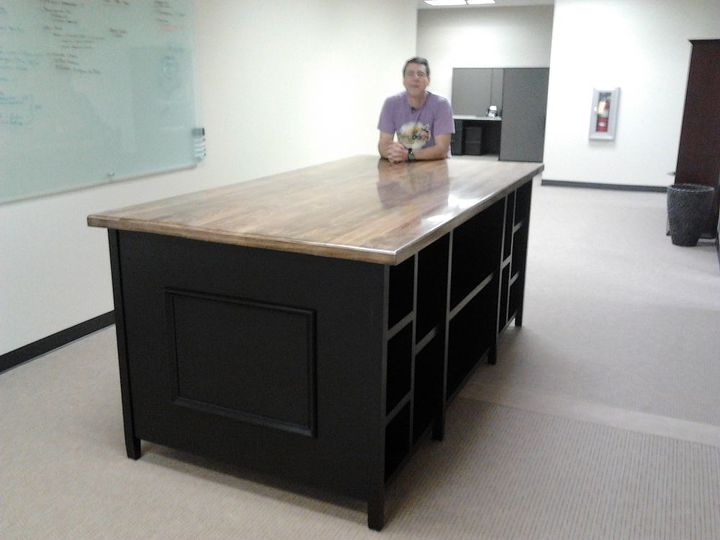 latest project, painted furniture, Latest project The perfect office work table