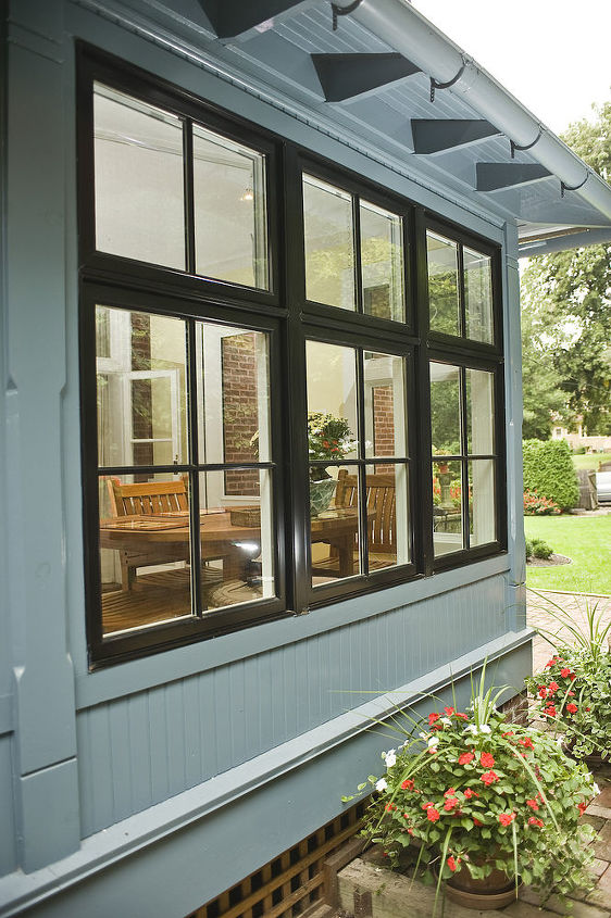 sun room porch enclosure in west chester pa, outdoor living, patio, porches