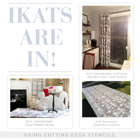 home decor trend ikat patterns are in, home decor, painting, wall decor