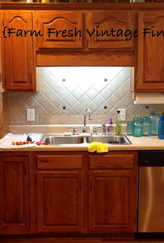 how to paint cabinets using annie sloan the reveal, kitchen cabinets, painting, They were in great condition so keeping them was a no brainer