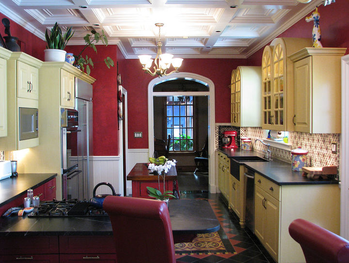 Renovated 1928 kitchen.For more info and photos visit http://www.homeworkremodels.net/award-winning-kitchen.html