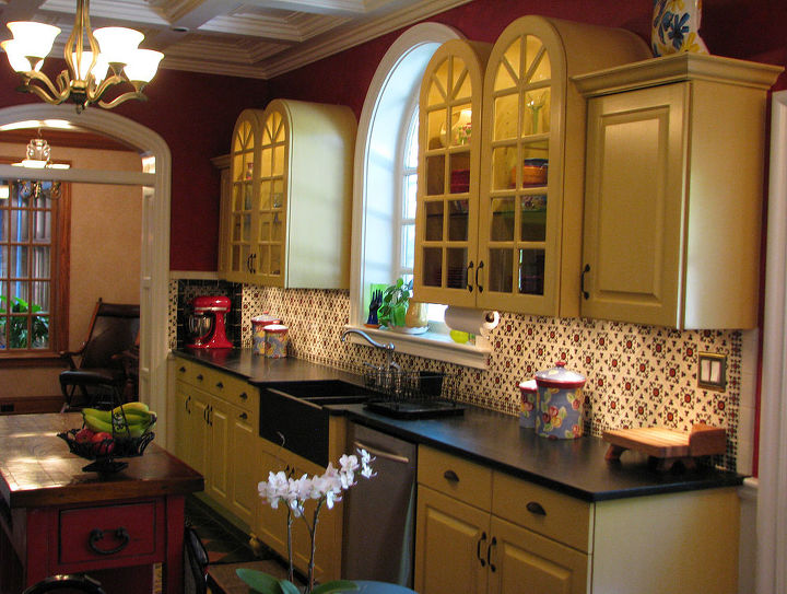 renovated 1928 kitchen. For more info and photos visit http://www.homeworkremodels.net/award-winning-kitchen.html